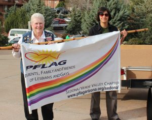 PFLAG in the parade